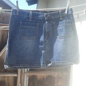Abercrombie & Fitch size 4 jean skirt